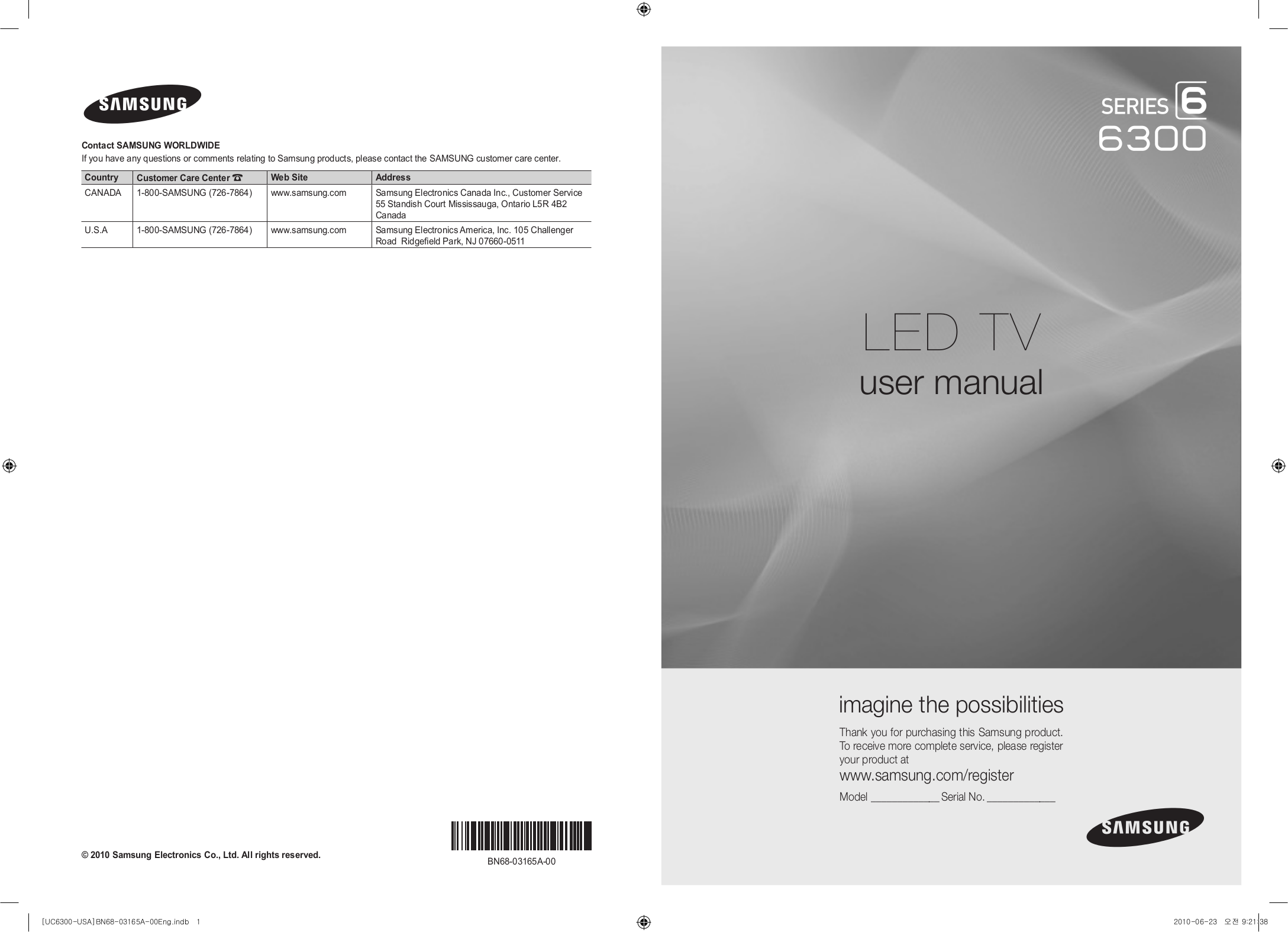 download free pdf for samsung un46c6300 tv manual rh umlib com samsung un46c6300 user manual Samsung Owner's Manual